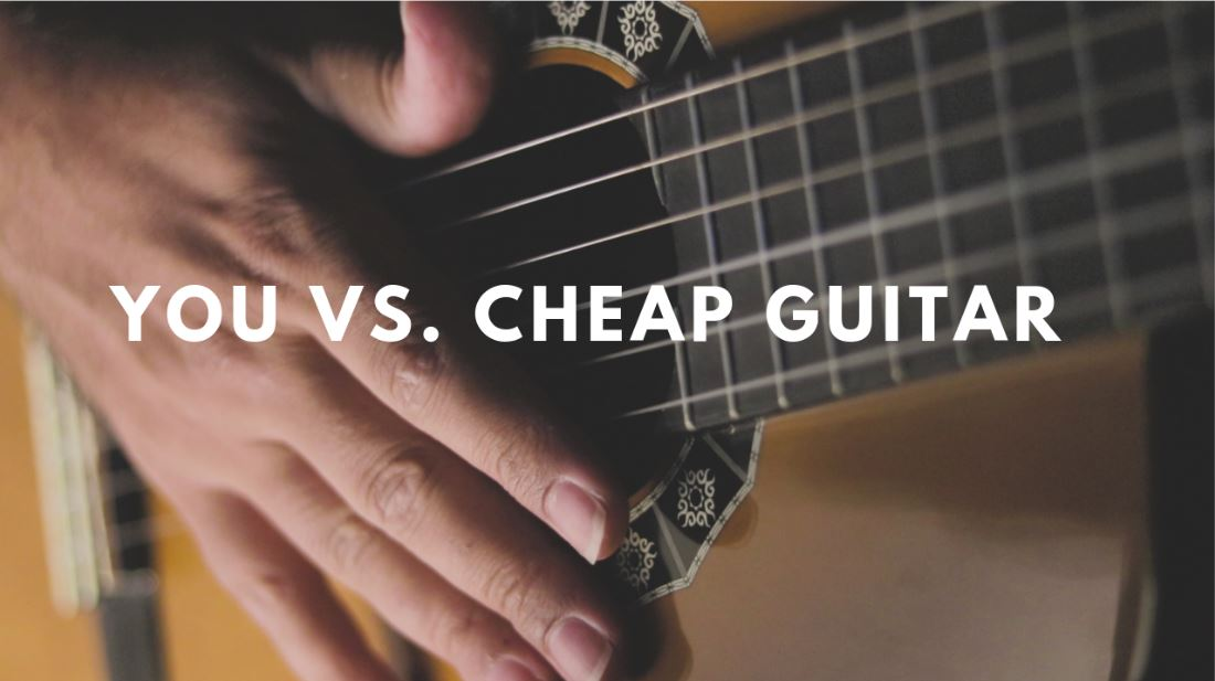 YOU vs. Cheap Nylon Strings Guitar